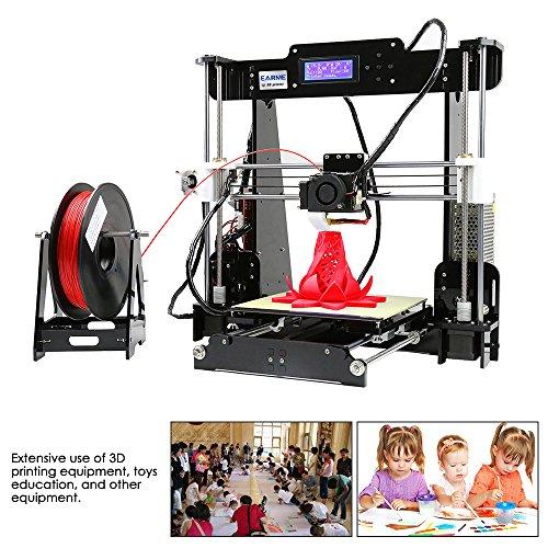 EARME Anet A8 3D Desktop Acrylic LCD Screen Printer DIY High Accuracy Self Assembly by EARME (Image #5)