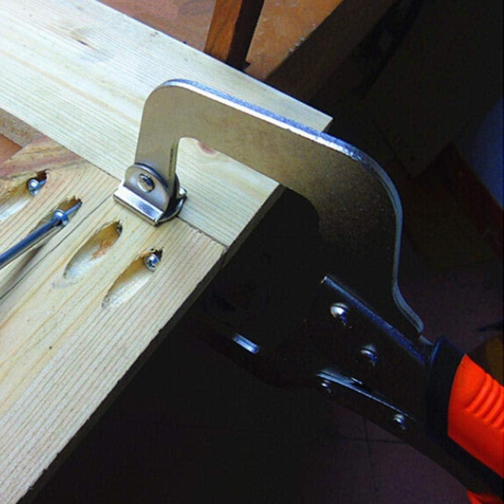 Hpybest Pince de serrage en forme de C pour travaux du bois 15,2 cm