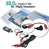 22 in 1 RC Flight Simulator Adapter Cable for G7 Phoenix 5.0 XTR VRC Transmitter Remote Controller FPV Racing by LITEBEE