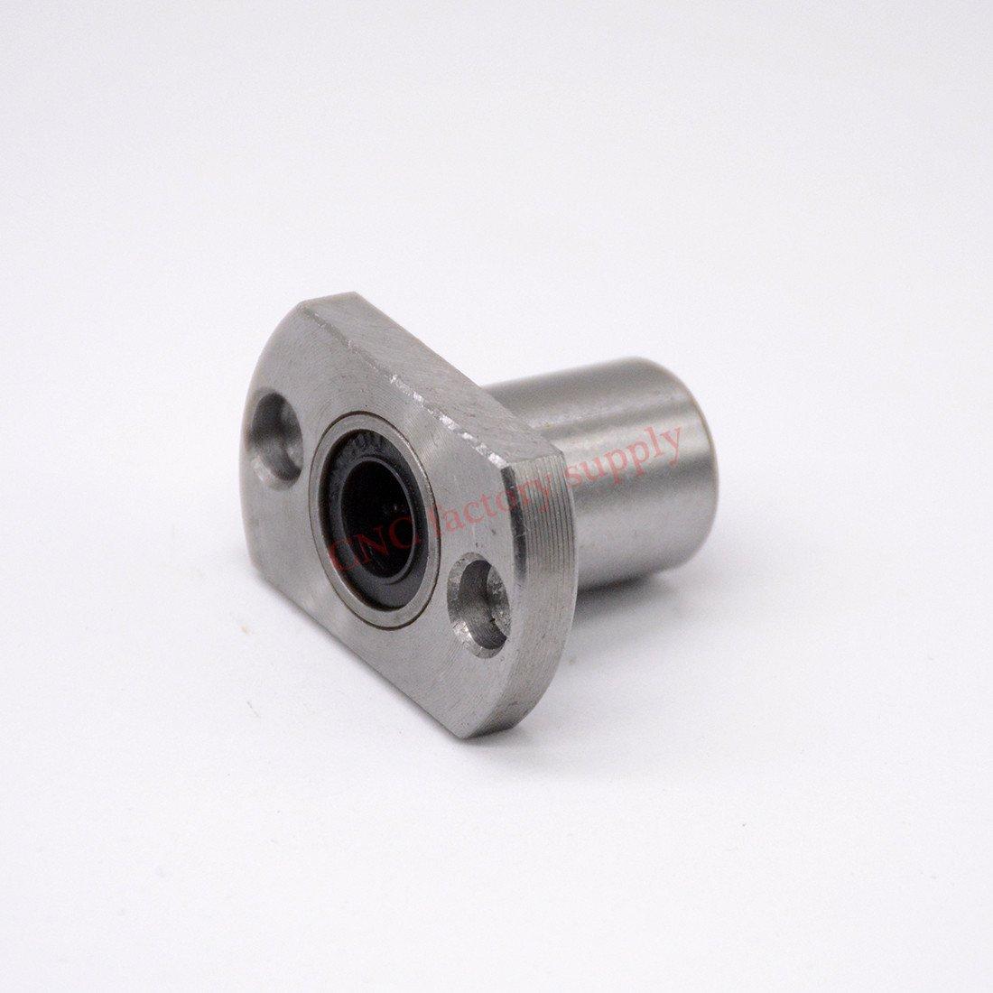2pcs LMH12UU flange linear bushing linear bearing CNC part