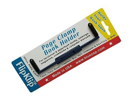 Soporte de libro – FlipKlip ergonómico libro soportes