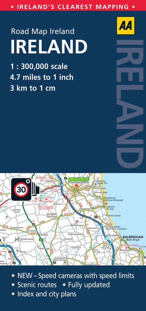 AA Road Map Ireland Ireland