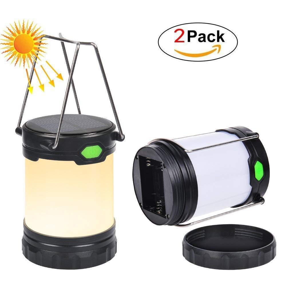 Luci solari LED per Esterni Luce, 3 modalità 10W,Luce di Emergenza Torcia, Lampada Campeggio Impermeabile per Emergenze Escursioni Pesca Trekking
