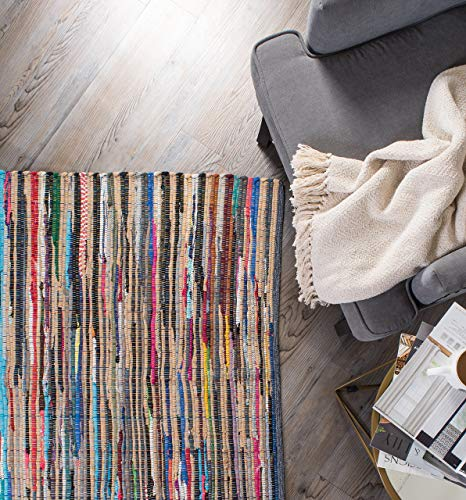DII Contemporary Reversible Floor Rug For Bathroom, Living R
