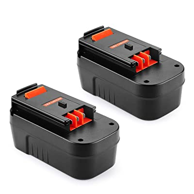 Replace for Black/&Decker HPB18 18V 18Volt 2.5Ah NICD Battery HPB18-OPE 244760-00