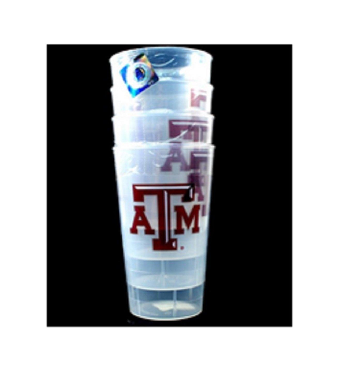 Texas A&M Tumblers - 4Pack 16OZ Tumbler Set
