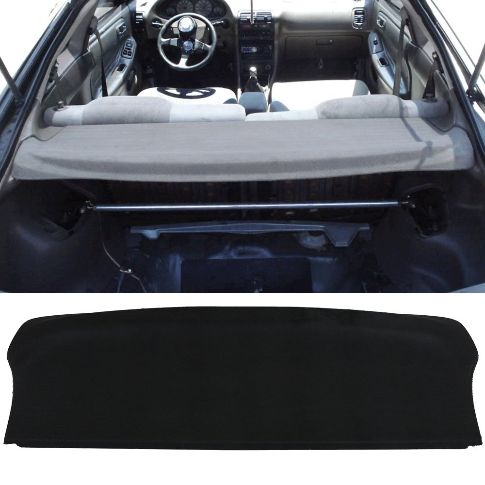 Trunk Cover Fits 1994-2001 Acura Integra   Hatchback OEM Factory Style Trunk Cargo Security Cover by IKON MOTORSPORTS   1995 1996 1997 1998 1999 2000