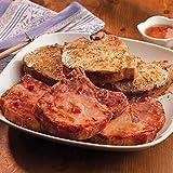 Gourmet Foods, Iowa Sampler, Four 12 oz. Iowa Chops Four 8 oz. Smoked Pork Chops