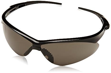 jackson nemesis safety glasses black frame smoke lens anti fog 1 each