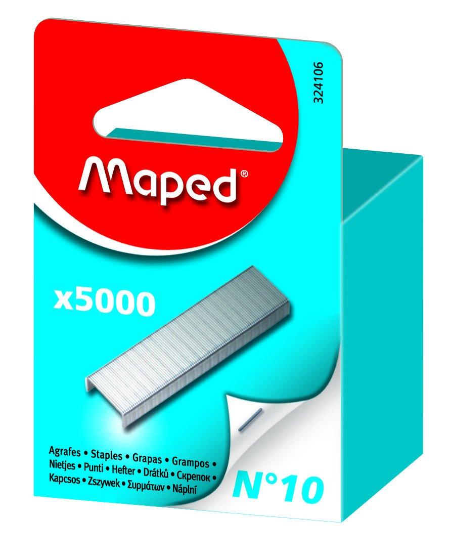 Punti per pinzatrice 10/x 2000/N no 10 x 5000 MAPED