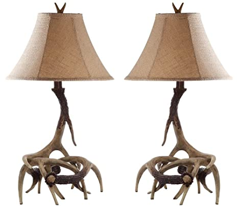 Amazon.com: Safavieh Lighting Collection Antler Sundance ...