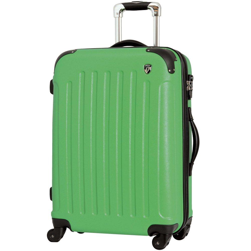[グリフィンランド]_Griffinland TSAロック搭載 スーツケース 超軽量 マット加工 newFK10371 ファスナー開閉式 B00J3E4SVG SS型|グリーン グリーン SS型
