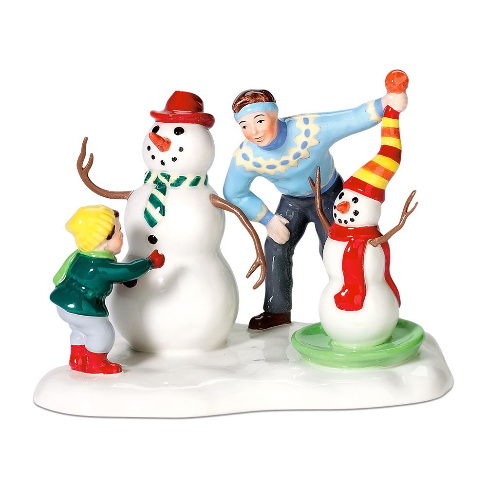 Department 56 Snow Village Like Father Like Son Accessory Figurine