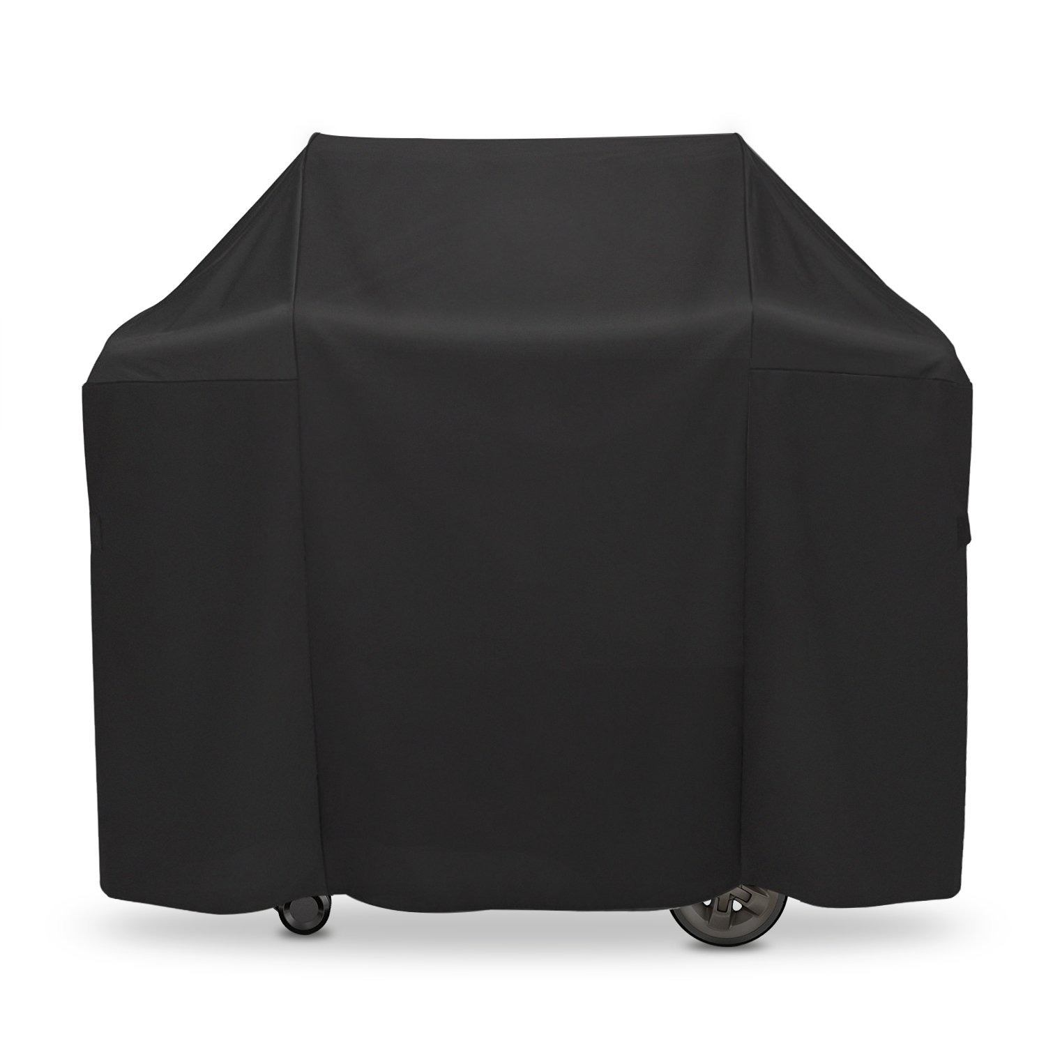 """Onlyfire 52-inch Grill Cover Fits for Weber Genesis II and Genesis II LX 200 Series Gas Gill Char-Broil Nexgrill Brinkmann and More(52""""L25""""W44.5""""H)"""