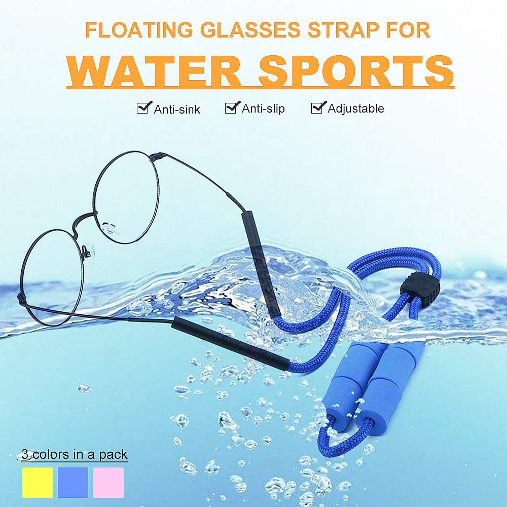 Eyewear Retainers Safety & Security Floating Glasses Strap for ...
