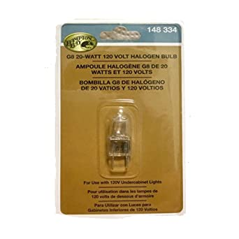Hampton Bay 20 Watt Clear Under Cabinet G8 Halogen Light Bulb