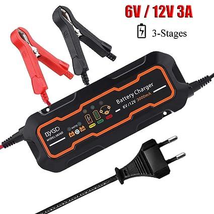 Cargador de batería automático de plástico, cargador de batería de ...