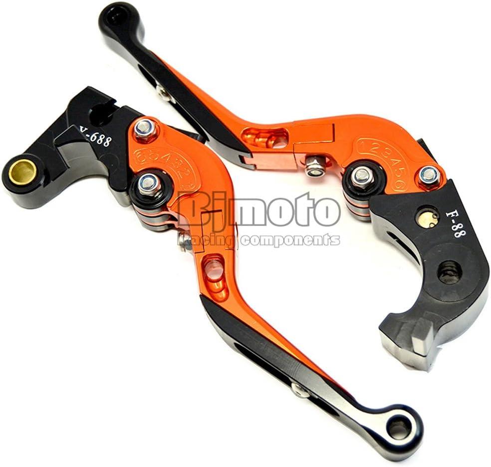 High Quality Motorcycle Adjustable Folding Extendable Brake Clutch Lever For HondaGROM//MSX125 2014-2018 CBR250R 2011-2013 Z125 monkey bike 2018-2019 CB300R 2019 Green