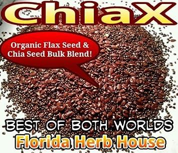 Amazon.com: chiax – Orgánico mezcla de semillas de chia/Lino ...