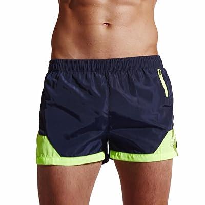 De Transpirable Bañadores Pantalones Zarlle Cortos Hombre Natación 3LS45jRqcA