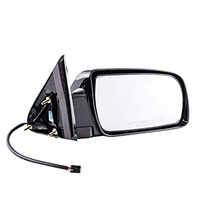 Passenger Side Mirror for Cadillac Escalade Chevy Blazer Suburban Tahoe GMC Yukon C/K 1500 2500 3500 (1988 1989 1990 1991 1992 1993 1994 1995 1996 1997 1998 1999 2000) Black Non-Heated Power Adjusting: Automotive