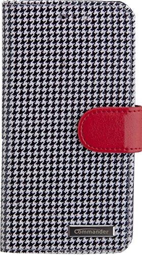 PETER JÄCKEL COMMANDER BOOK CASE PEPITA für Apple iPhone 7/8