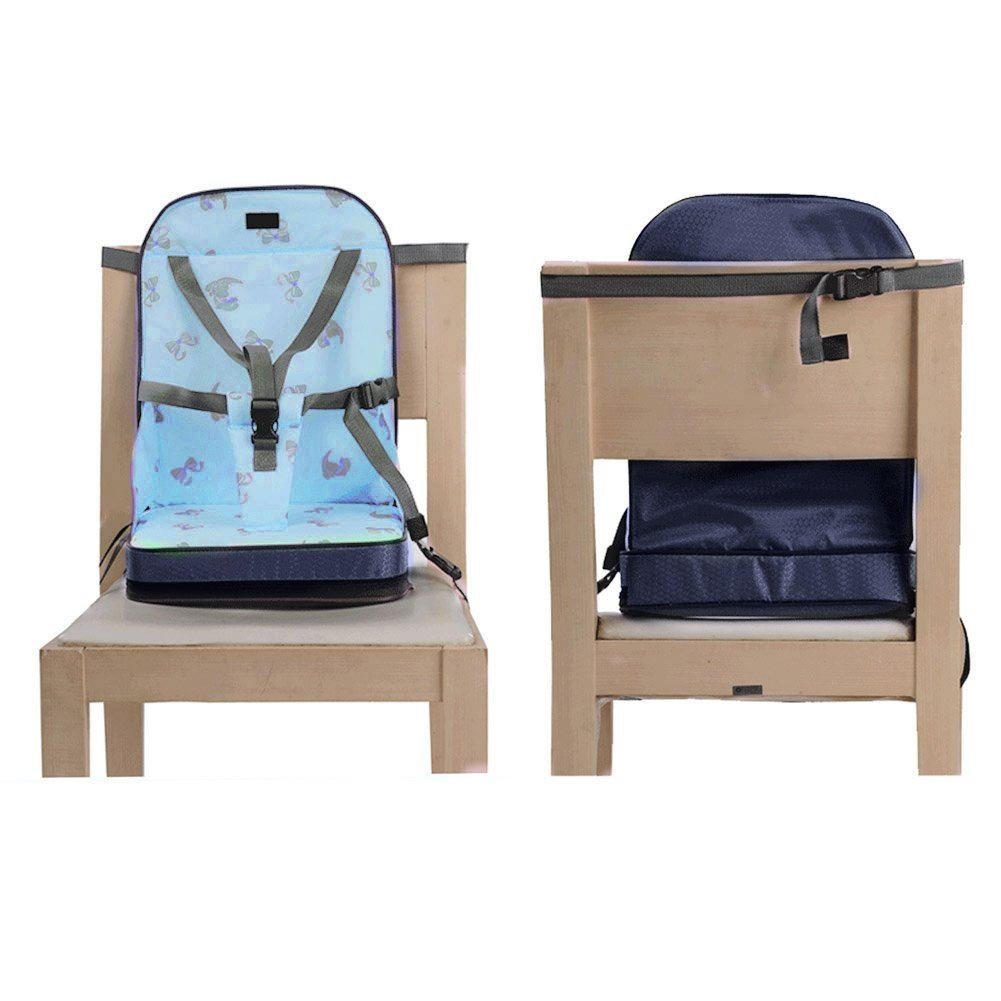 Portable Baby Toddler Infant Dining Chair Booster Seat Harness Blue Amazoncouk