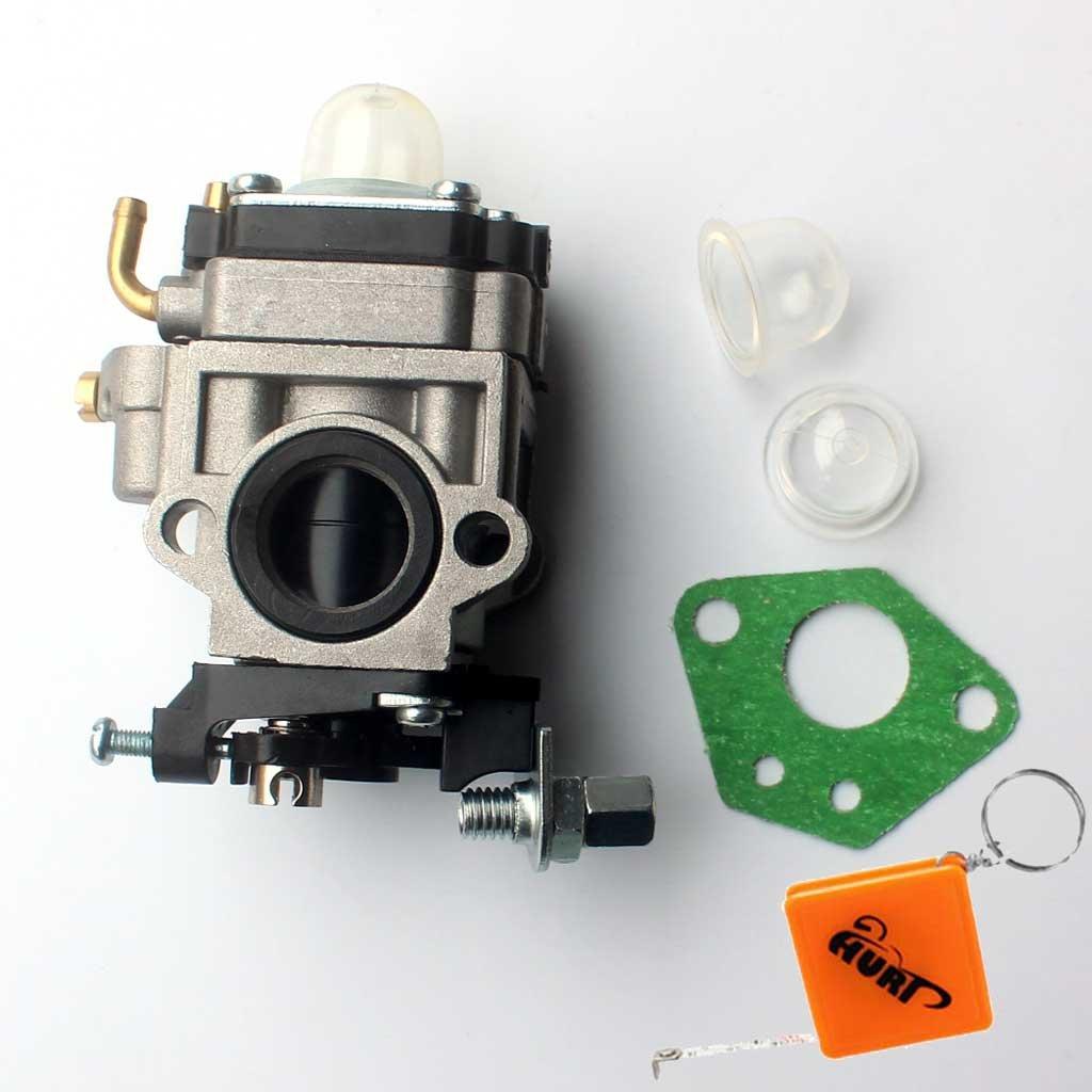 HURI 15mm Vergaser mit Dichtung f/ür Benzin Scooter B-Scooter f/ür 43ccm oder 49ccm Motor