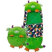 Nuvx Happy Nappers 1 ~ 3 a/ños plegable c/ómodo y divertido divertido y suave Saco de dormir para ni/ños saco de dormir para ni/ños