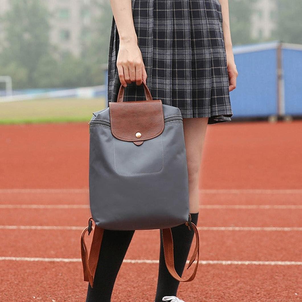 Clearance Women Bags JJLOVER Fashion Leisure Travel Nylon Zipper Bag Student Backpack Folding Bag Shoulder Bag