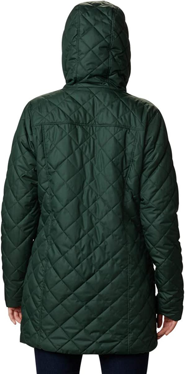 Columbia Womens Copper Crest Long Jacket Insulated Jacket