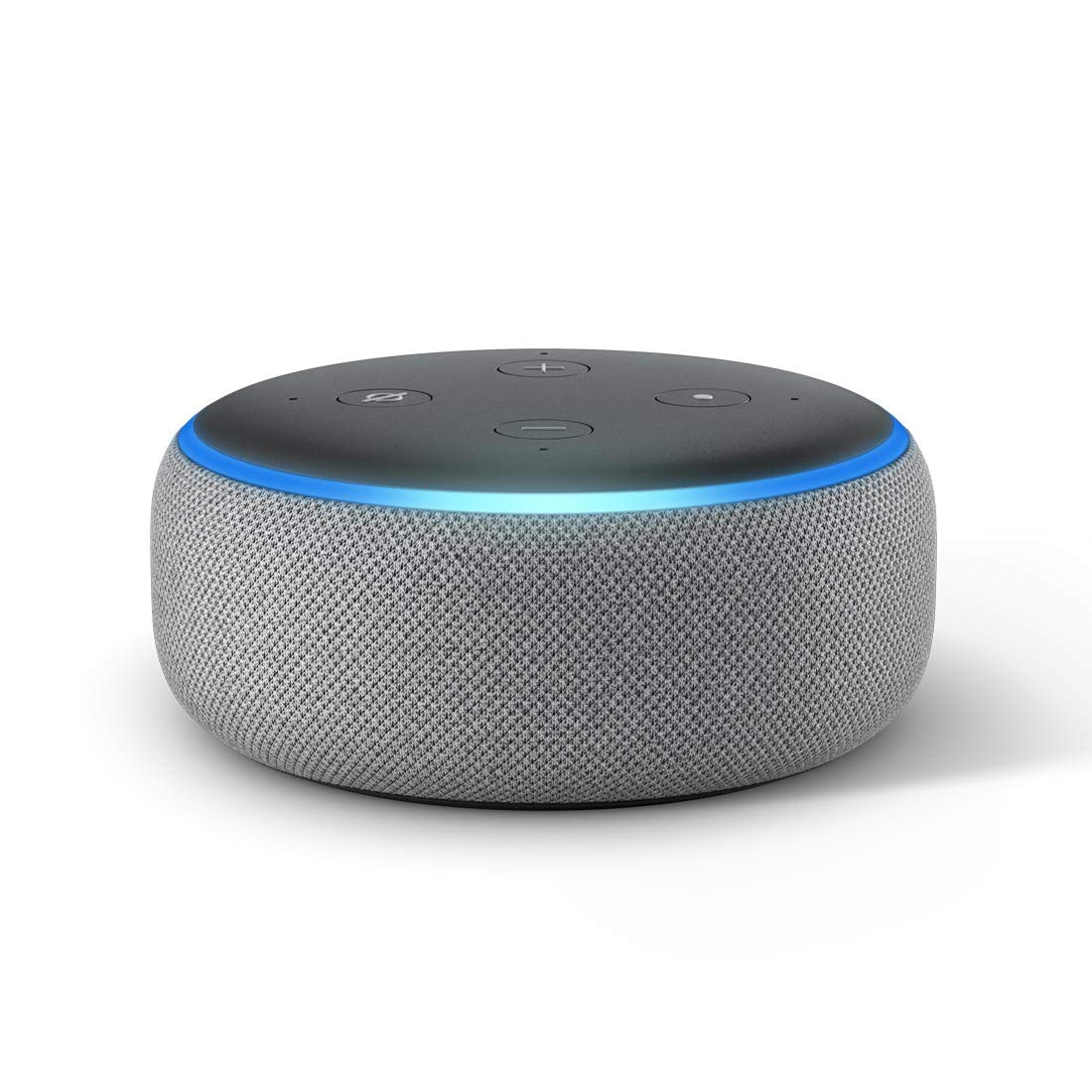 Echo Dot (3rd Gen) – New and improved smart speaker with Alexa (Grey) product image