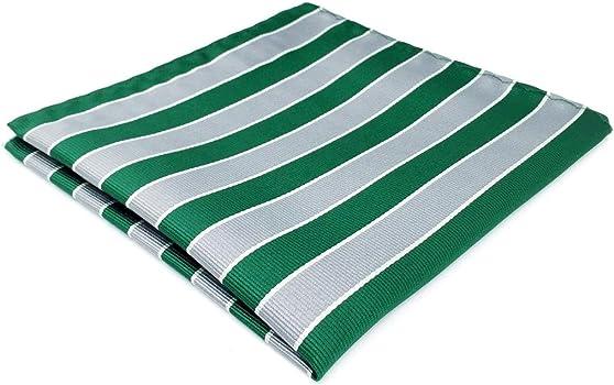 shlax&wing Classic Rayas Corbatas Para Hombre Gris Verde Traje de ...