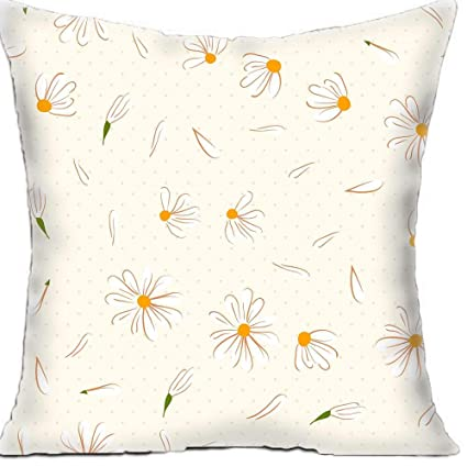 Superieur Custom Square Sofa Cushion Covers Beautiful Petals Two Sides Print Throw  Pillow Cases 16x 16