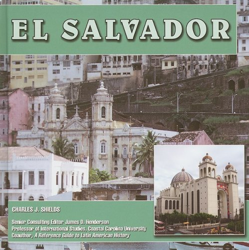 El Salvador (Central America Today) by Brand: Mason Crest Publishers