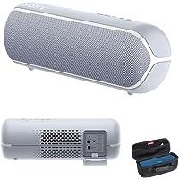 Sony Bluetooth Speaker Sony SRS-XB22 Extra BASS Portable Bluetooth Speaker, Gray, (SRS-XB22H)