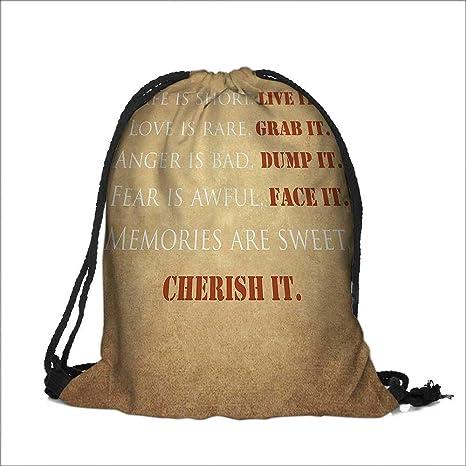 Amazon Travel Drawstring Closure Bag Collection Inspirational