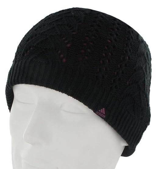 7d70d224fa7 Amazon.com  adidas Women s Powder Beanie Hat