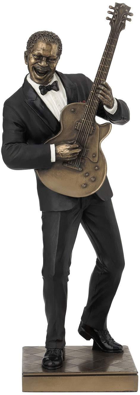 Guitar Player Statue Sculpture Figurine – Jazz Band Collection