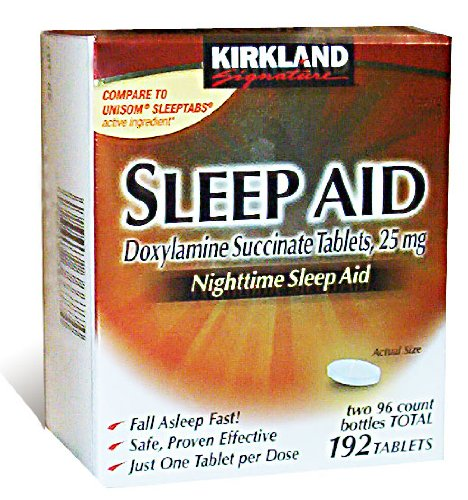 Kirkland Signature Nighttime Sleep Aid (Doxylamine Succinate 25 mg), 192 ()