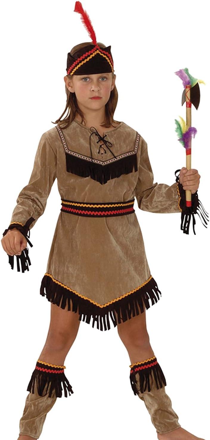 Boland 86942 - Disfraz de indio para niño (3 a 10 años) (talla S)