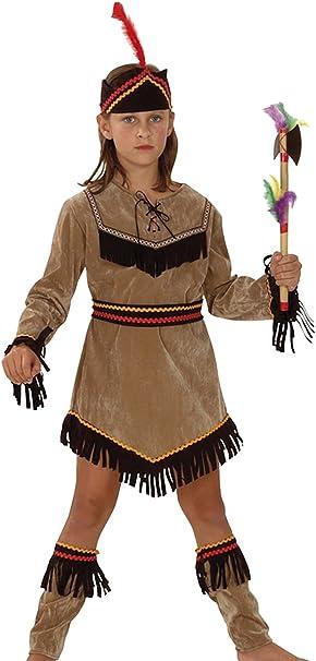 Boland 86942 - Disfraz de indio para niño (3 a 10 años) (talla S ...