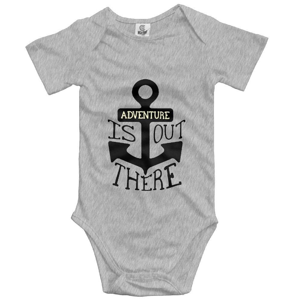 Midbeauty Anchor Adventure There Newborn Baby Sleeveless Jumpsuit Romper