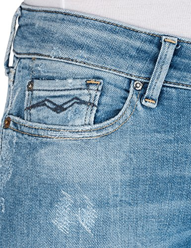 Blu Replay mid Light Jeans Skinny Blue Luz 9 Donna X44Irq