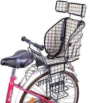 YXZN Asiento de Bicicleta para niños Sillín para niños con ...