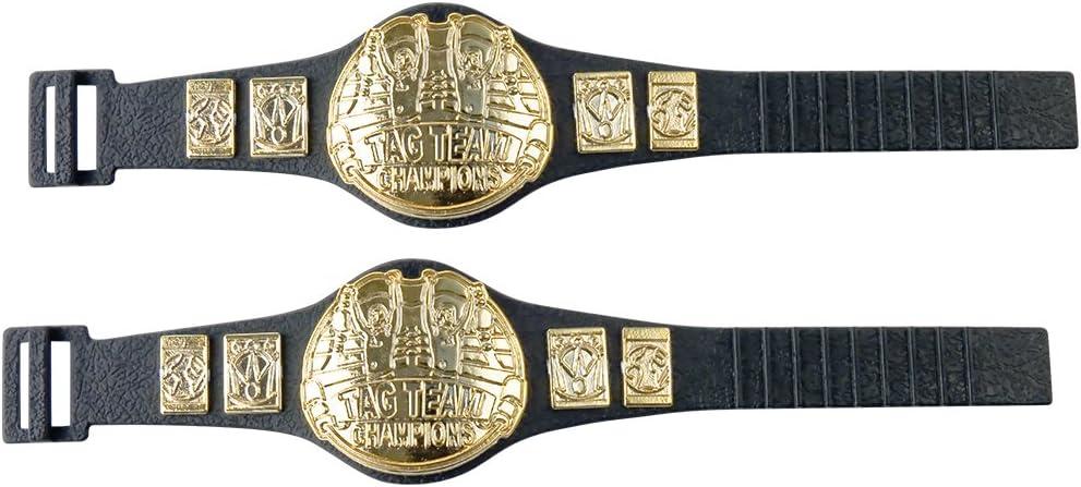 Set of 2 Tag Team Championship Belts for…