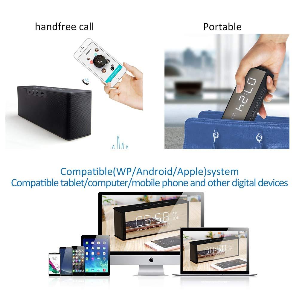 Altavoz Bluetooth Receptor Altavoz inalámbrico portátil para ...