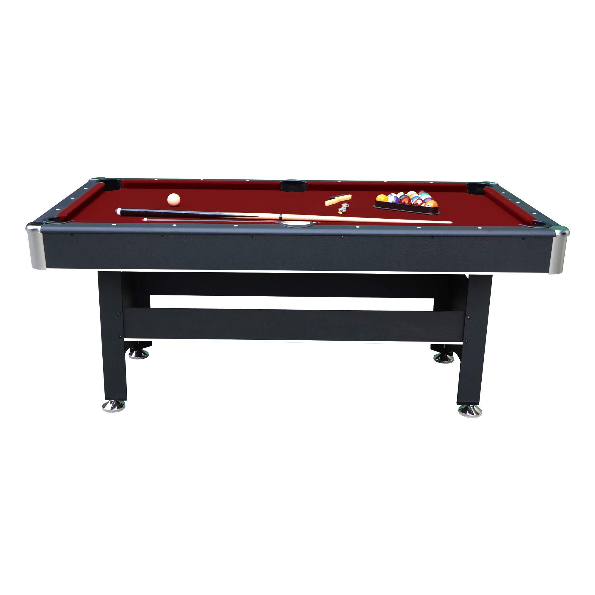 Hathaway Conquest Red Fiberglass Cue Pool Billiard Stick Indoor Game 58 In New