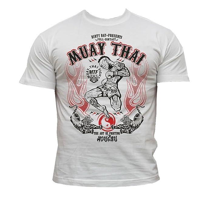 Dirty Ray Artes Marciales MMA Muay Thai camiseta hombre T-shirt K9: Amazon.es: Ropa y accesorios