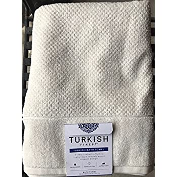 Turkish Finest Ivory Bath Towel Absorbent 100 Cotton Ultra Soft 58 By 30 In Made